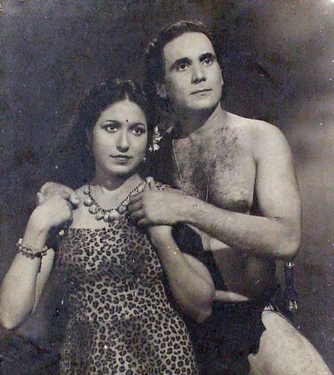 John Cawas and Leela
