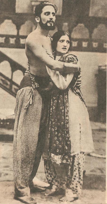 Nayampalli and Zilloo in Wedding Night 1929 001