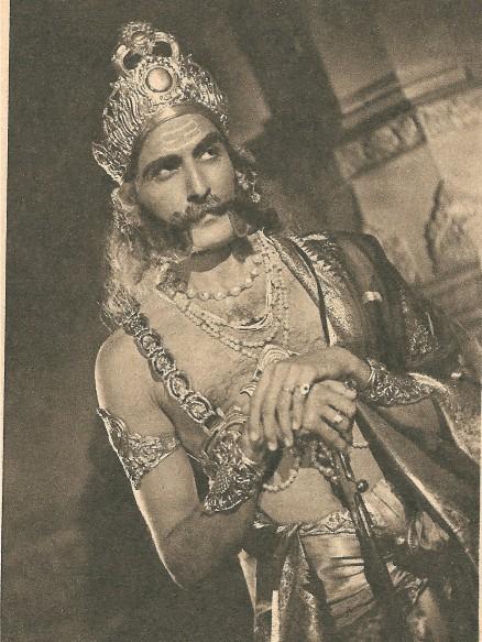 S B Nayampalli in MAHATMA VIDUR 001