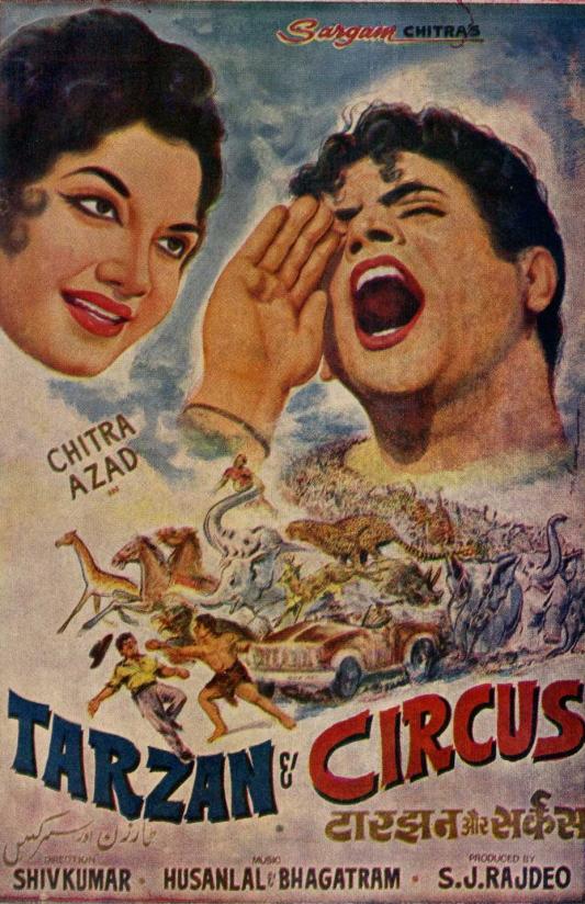 Tarzan and Circus poster